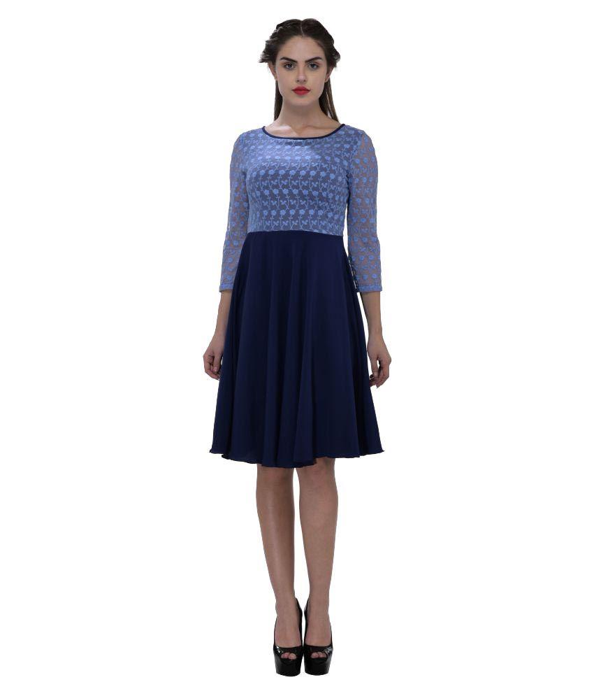 Saieraa Crepe Dresses