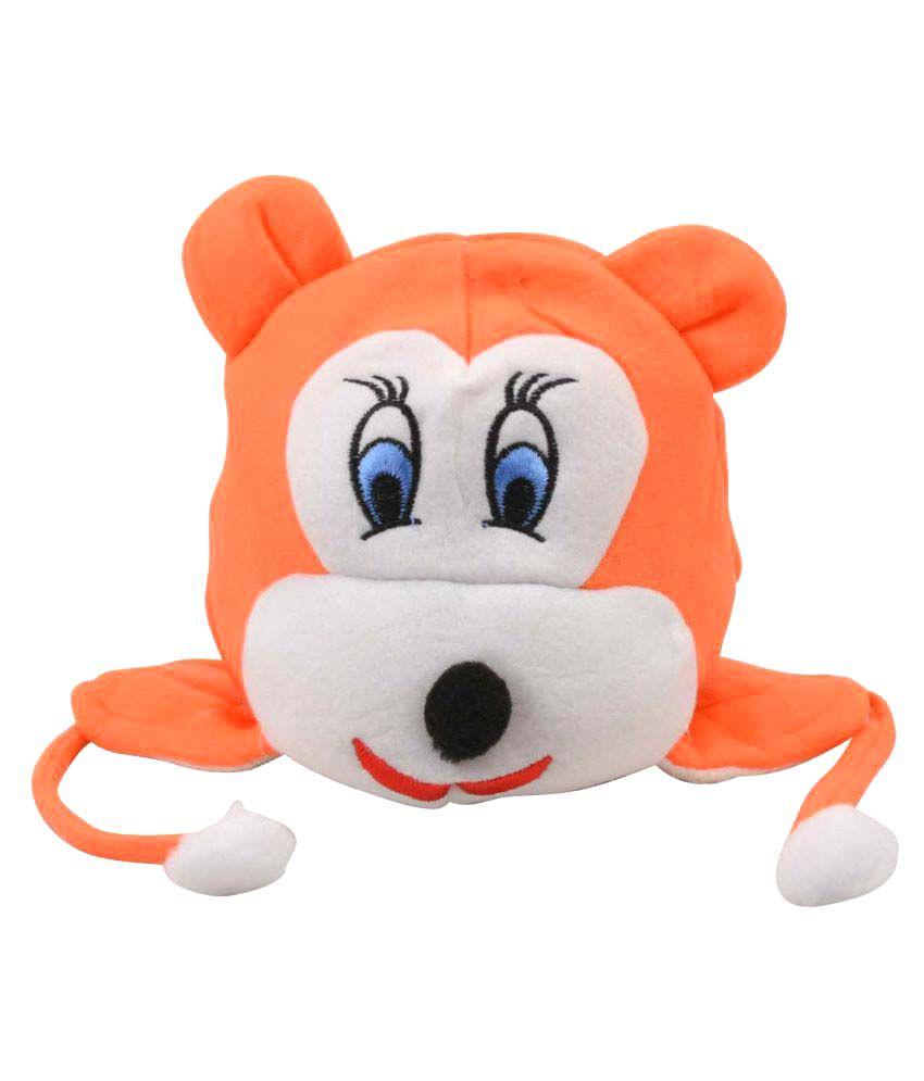 Tiekart Orange Kids Warm Caps