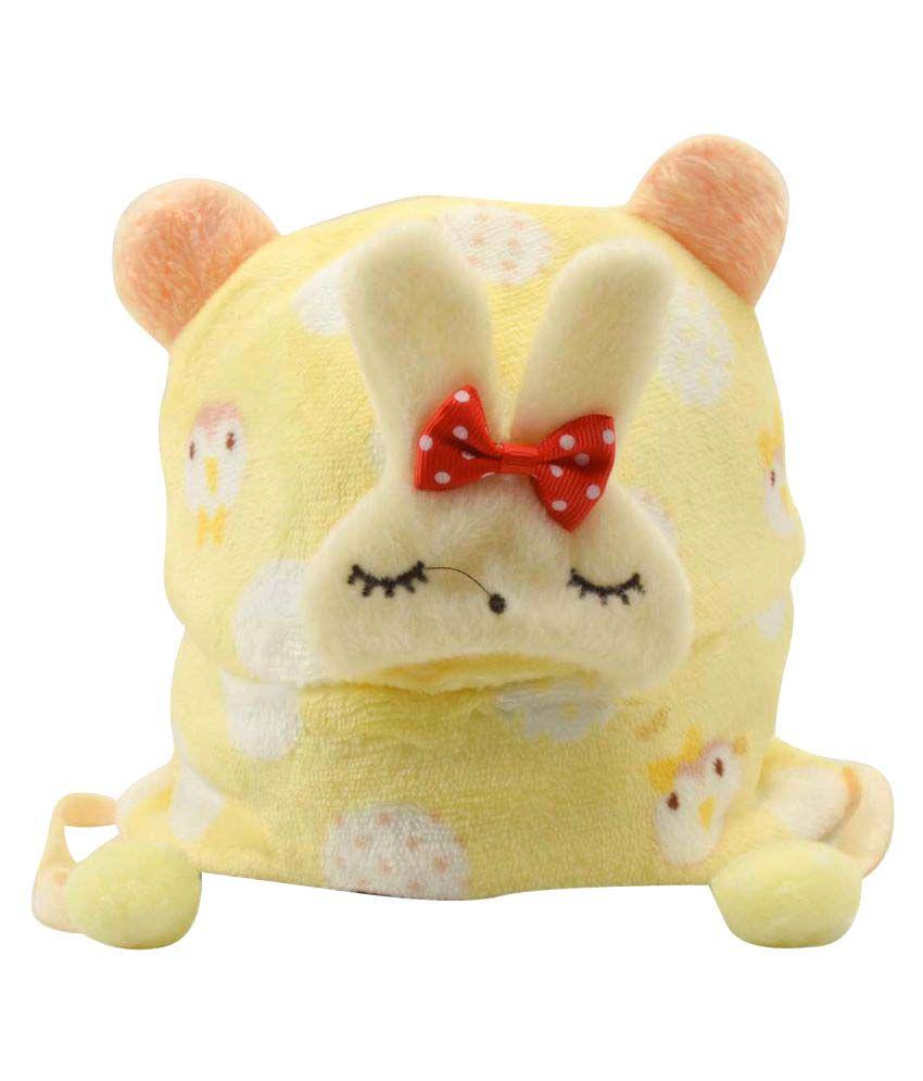 Tiekart Yellow Kids Warm Caps