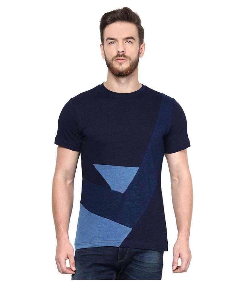 Celio Navy Round T-Shirt