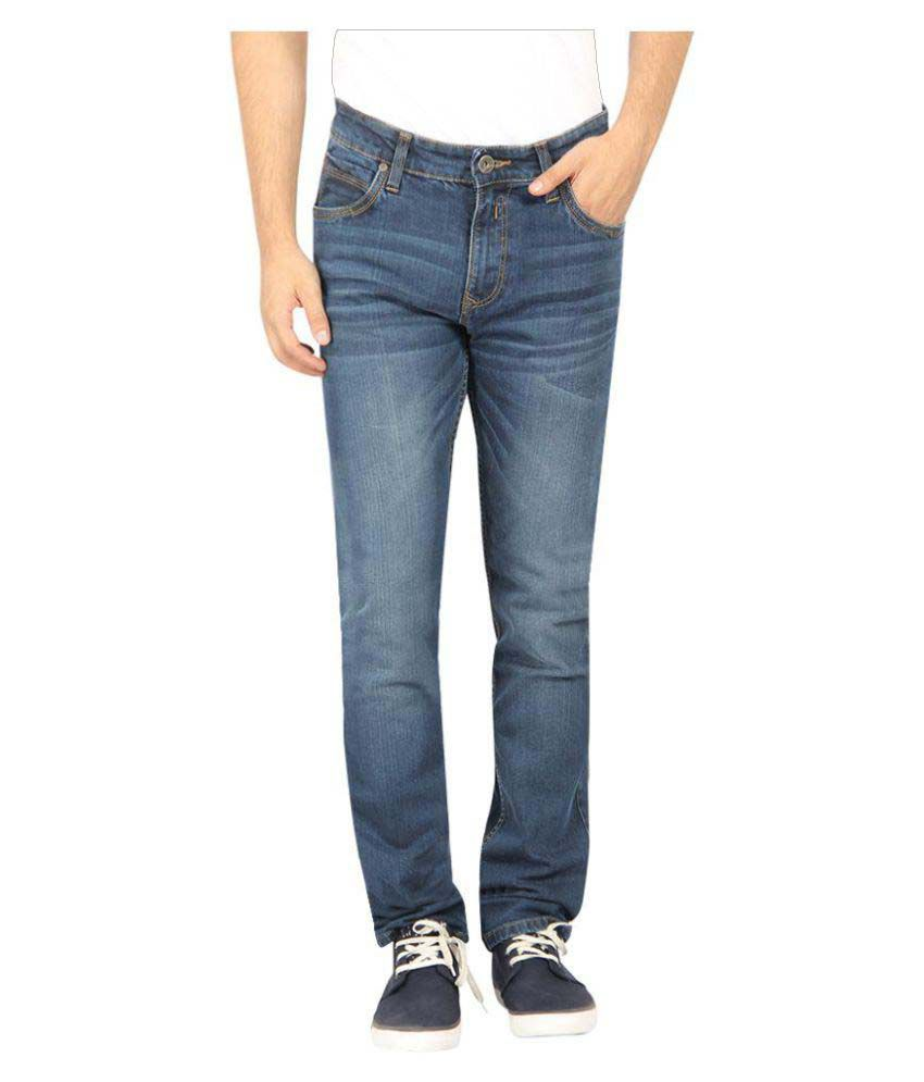 Pepe Jeans Blue Slim Solid