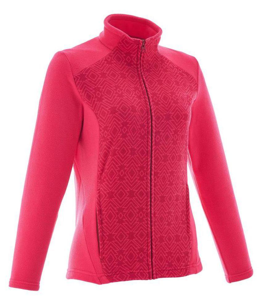Quechua Pink Polyester Jackets
