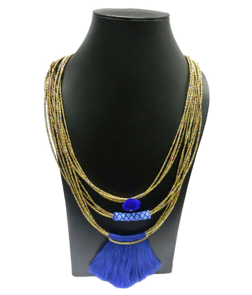 Beads India Multicolour  Alloy Necklace