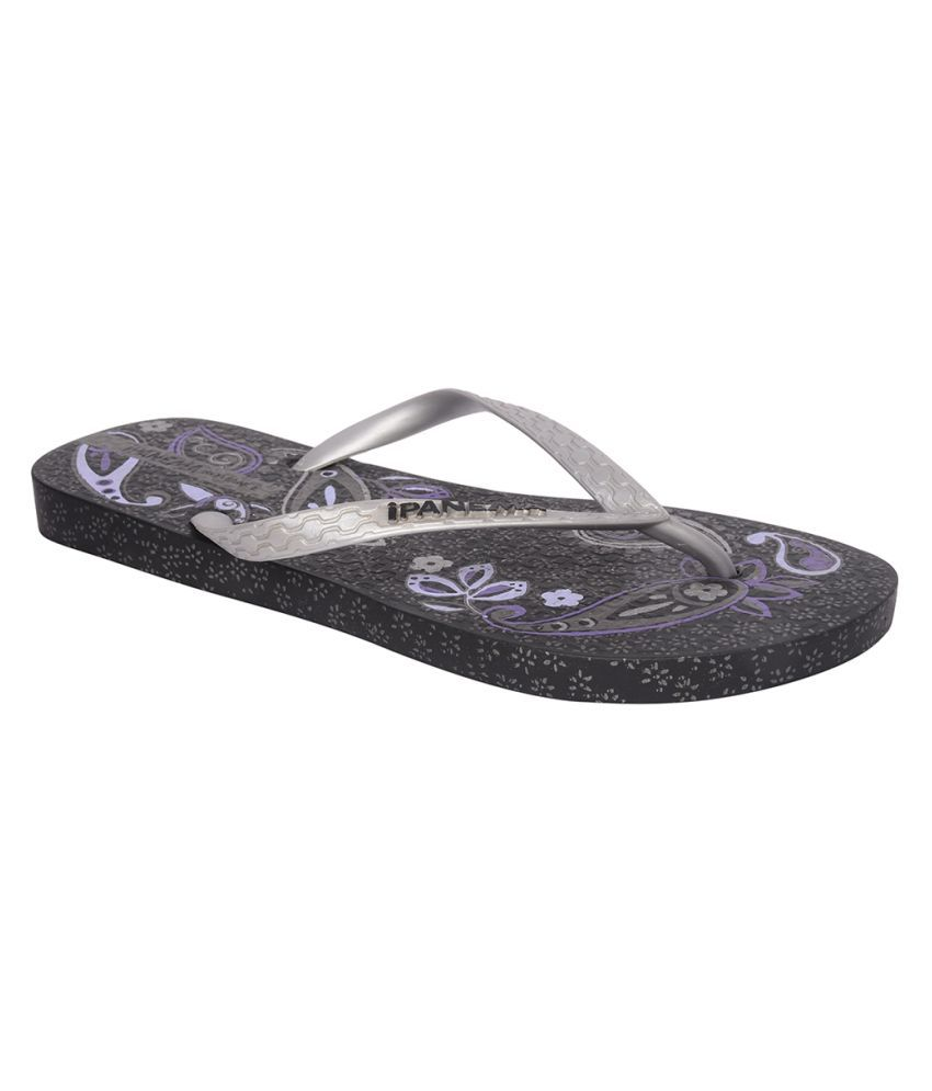 Ipanema Silver Slippers