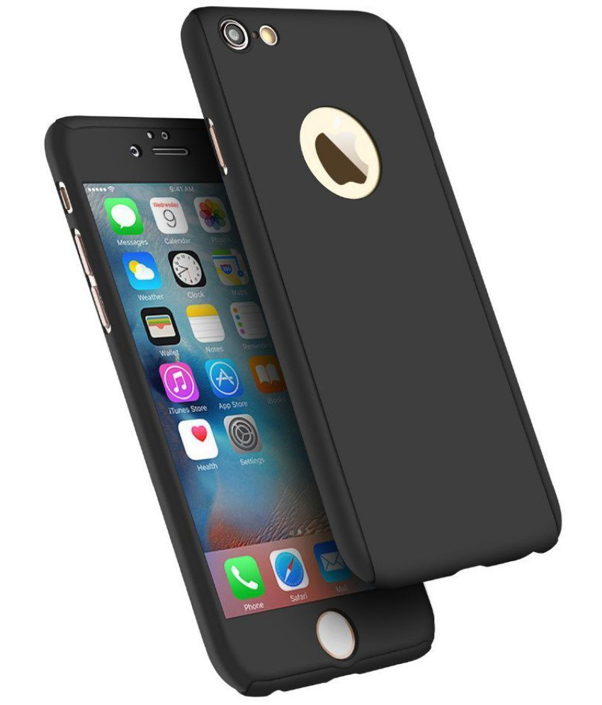 Apple iPhone 6S Plus Cover by Galaxy Plus - Black