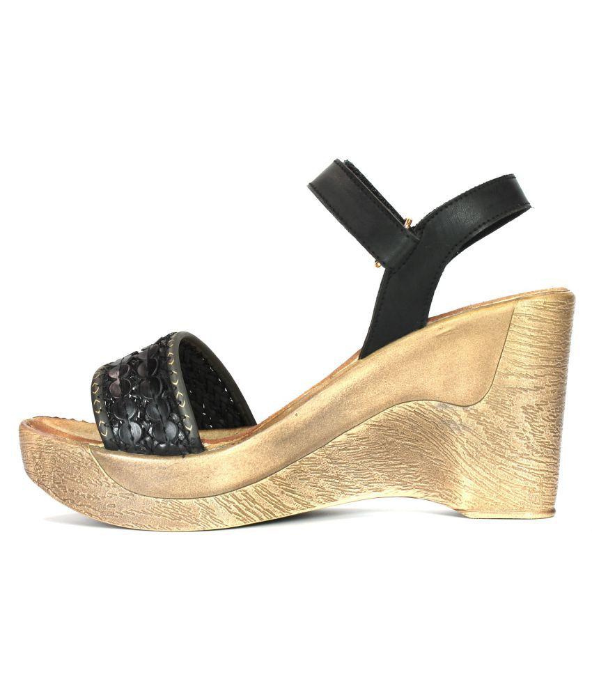 f98a90eeecb Inc.5 Black Wedges Heels