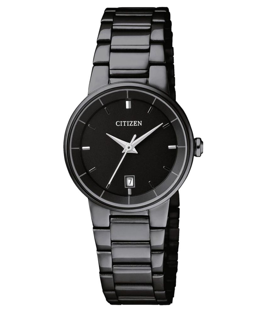 Citizen Womens Black Dial Quartz Watch Stainless Steel Automatic -  EU6017-54E Price in India  Buy Citizen Womens Black Dial Quartz Watch  Stainless Steel ... 726ba0b766