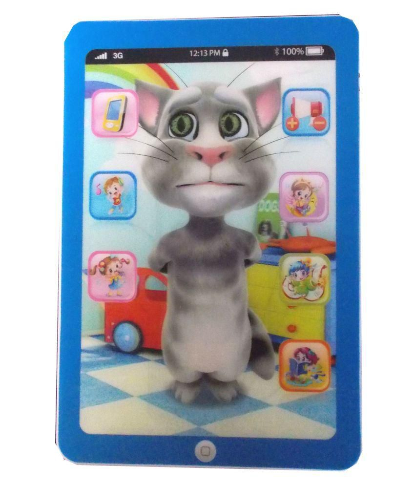 Volik 3D Interactive Learning Tab With Talking Tom