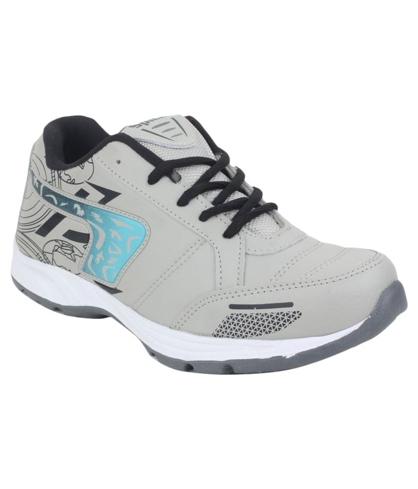 SPICK 806 Gray Running Shoes