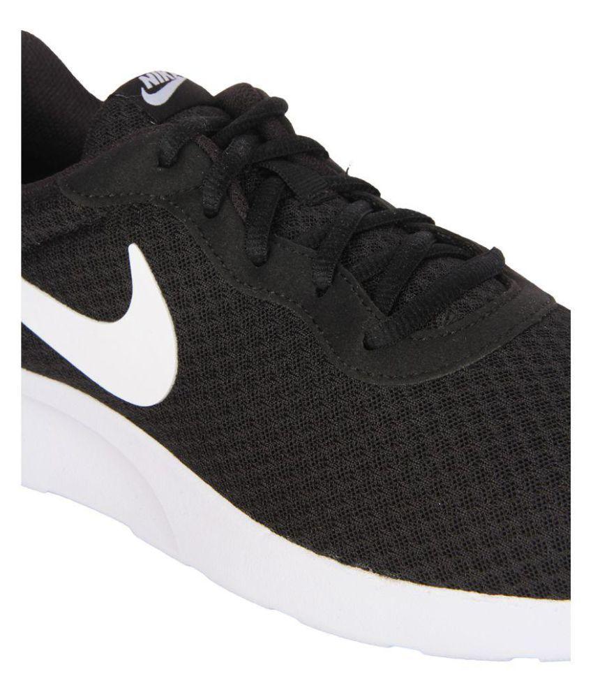 172713e30813 Nike Tanjun Sneakers Black Casual Shoes - Buy Nike Tanjun Sneakers ...