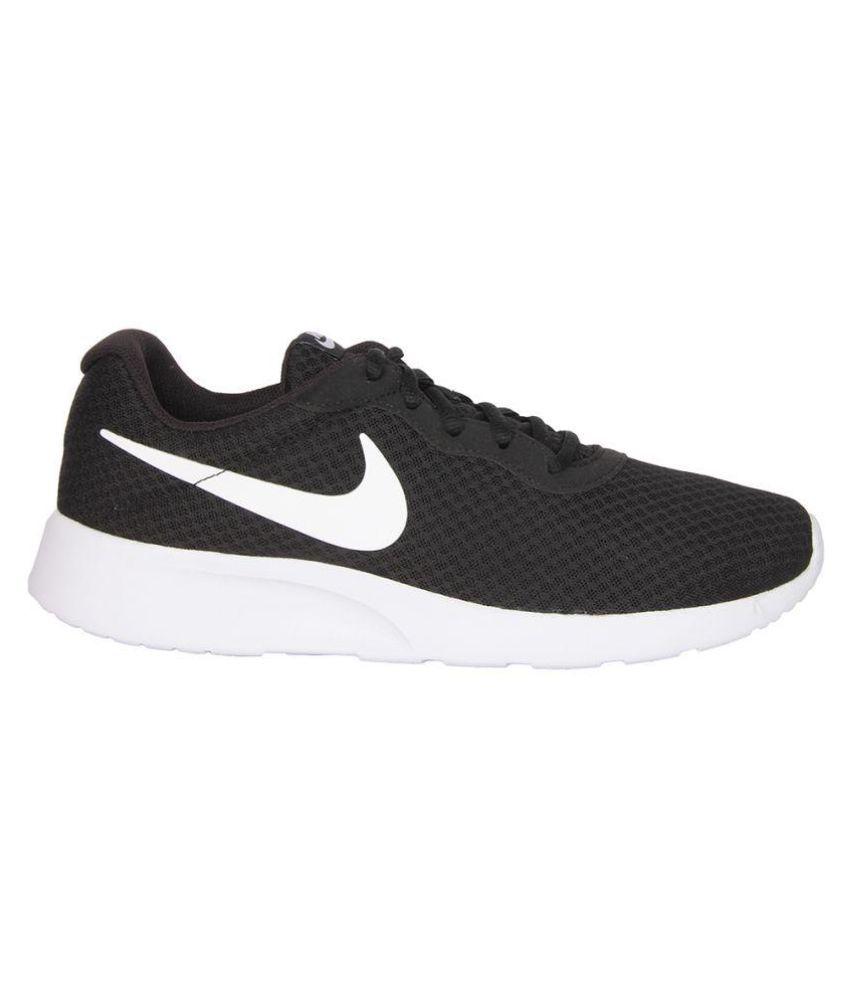 ostaa erotuskengät 100% korkealaatuista Nike Tanjun Sneakers Black Casual Shoes