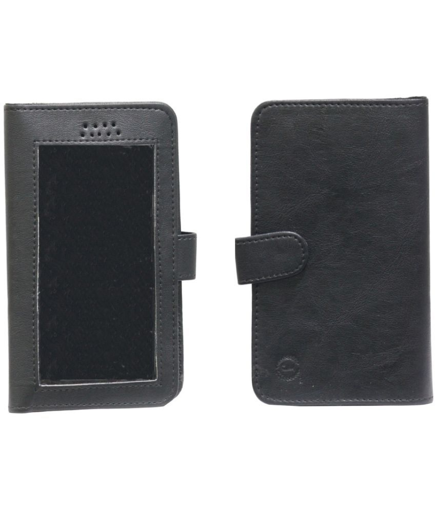 Lenovo A6000 Holster Cover by Jojo - Black