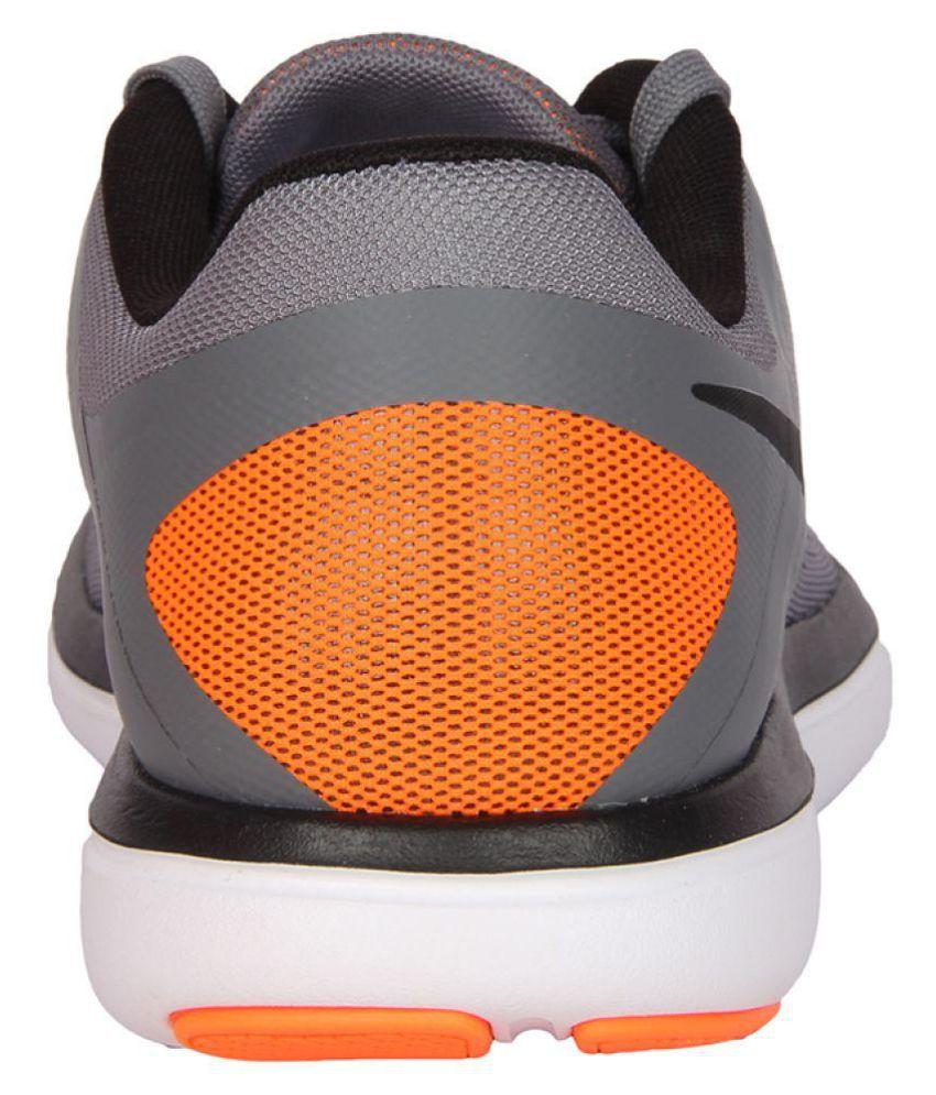124c6e80e5b3 Nike Flex 2016 RN Gray Running Shoes - Buy Nike Flex 2016 RN Gray ...