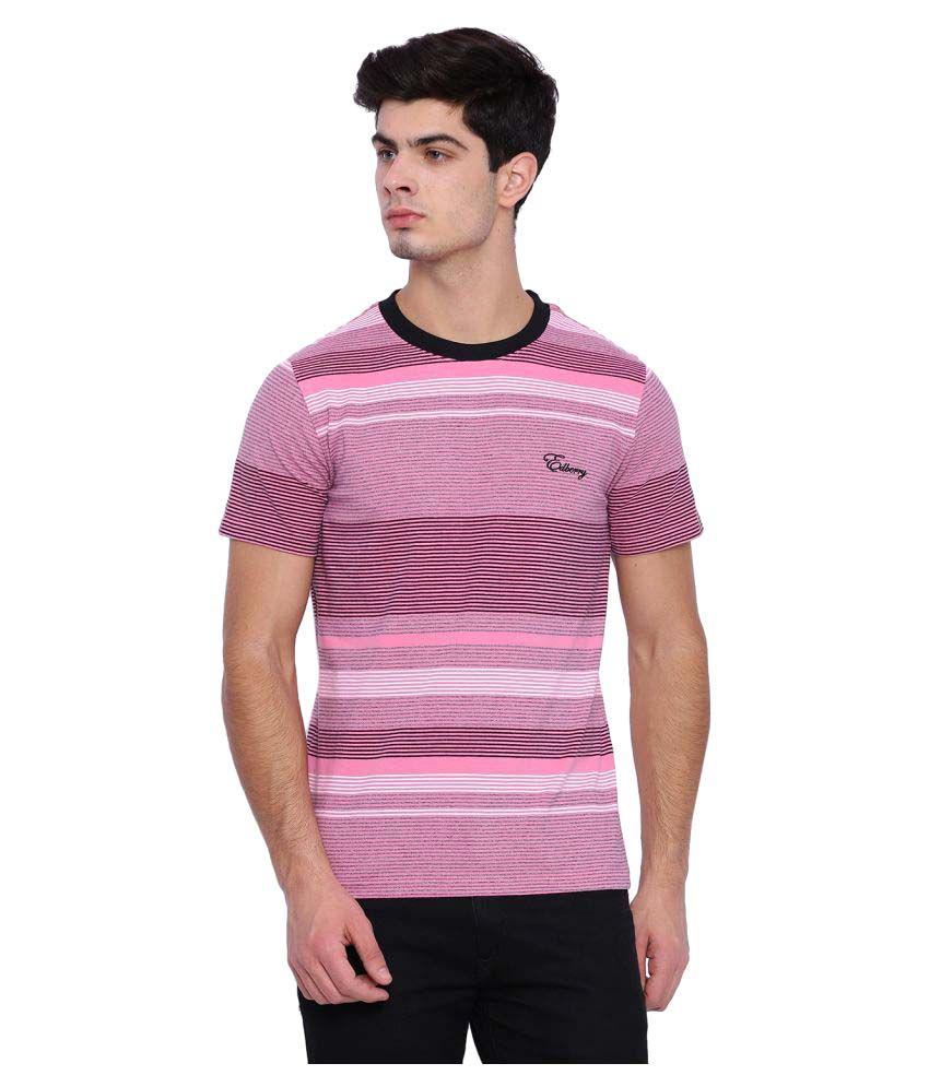Edberry Pink Round T-Shirt