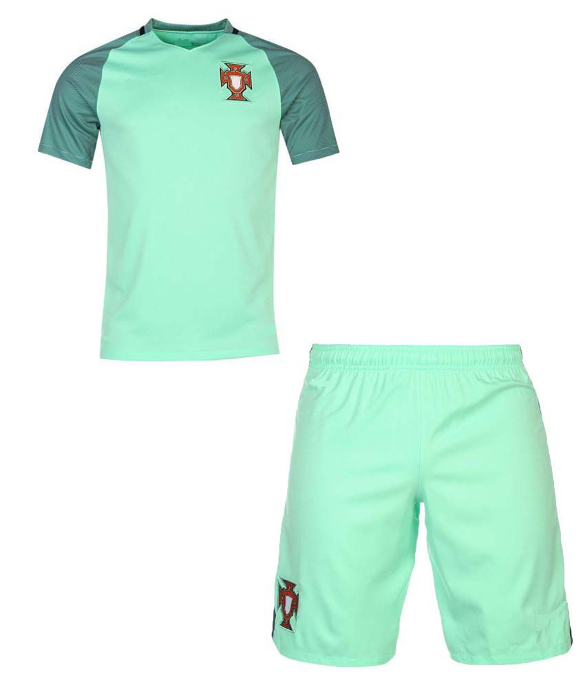 dde3b40b93 Marex Portugal Green Football Jersey  Buy Online at Best Price on Snapdeal