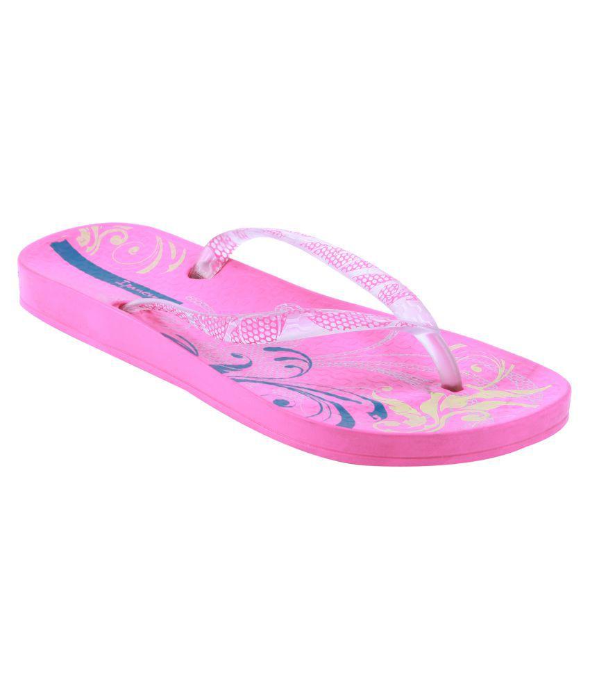 Ipanema Pink Slippers