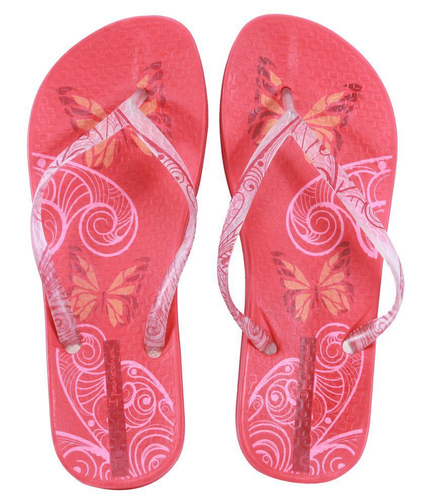 Ipanema Pink Flip Flops