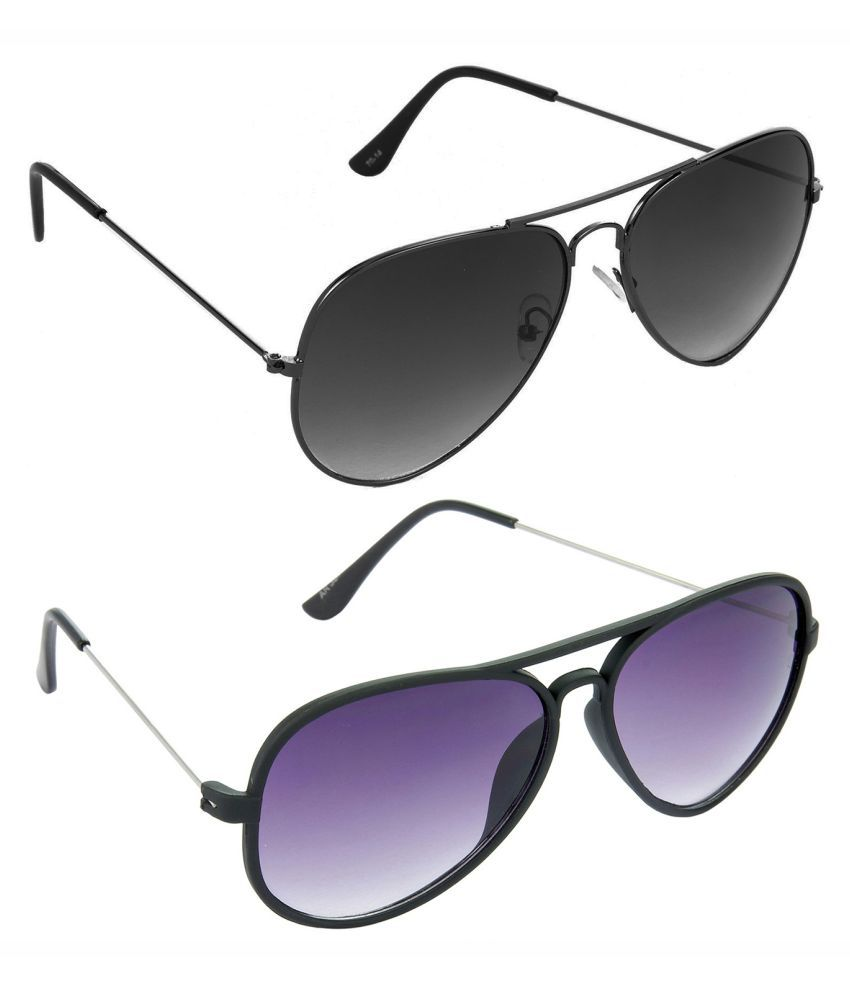 HRINKAR Sunglasses Combo ( 2 pairs of sunglasses )