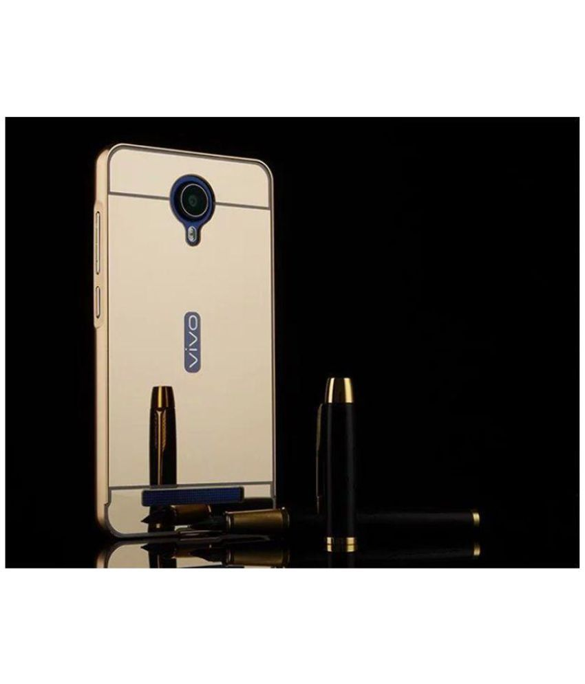 premium selection b2681 d64bc Vivo Y28 Cover by Micomy - Golden