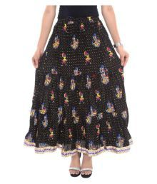 Jaipur Skirt Cotton Pleated Skirt