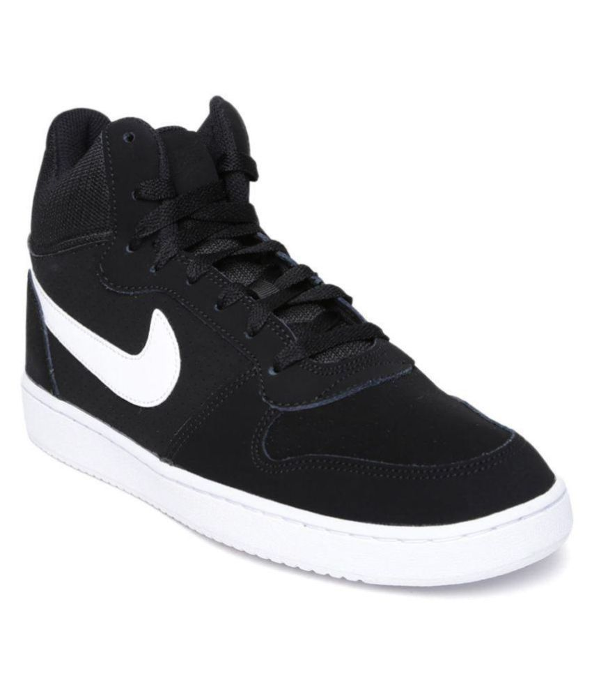 check out 51f25 23b2d Nike Sneakers Black Casual Shoes - Buy Nike Sneakers Black Casual Shoes  Online at Best Prices in India on Snapdeal
