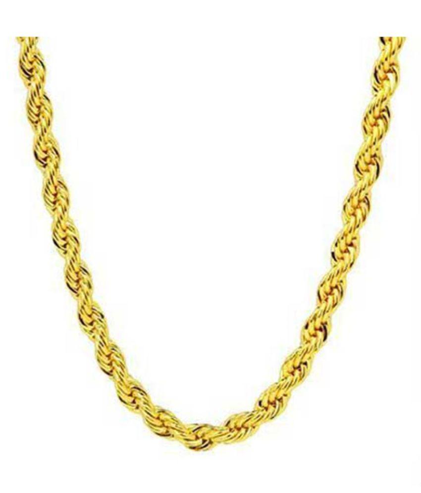 memoir golden chain for men buy online at low price in