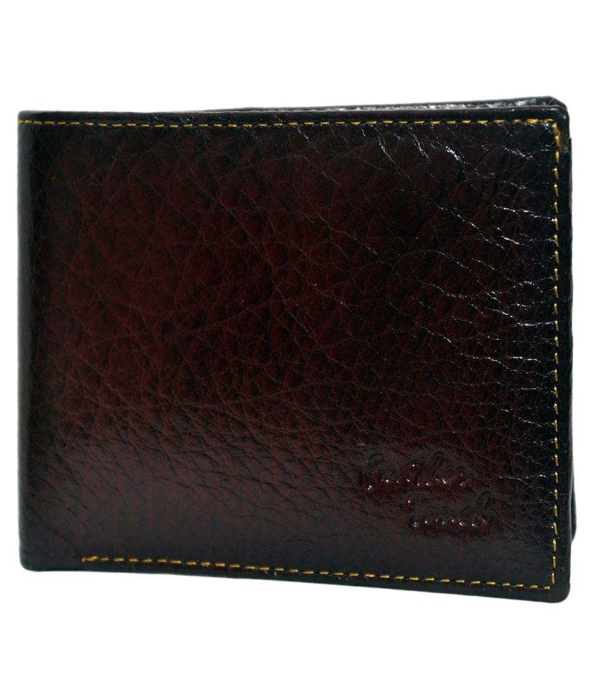 NoVowels Brown Wallet