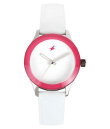 Fastrack White Analog Watch For Women