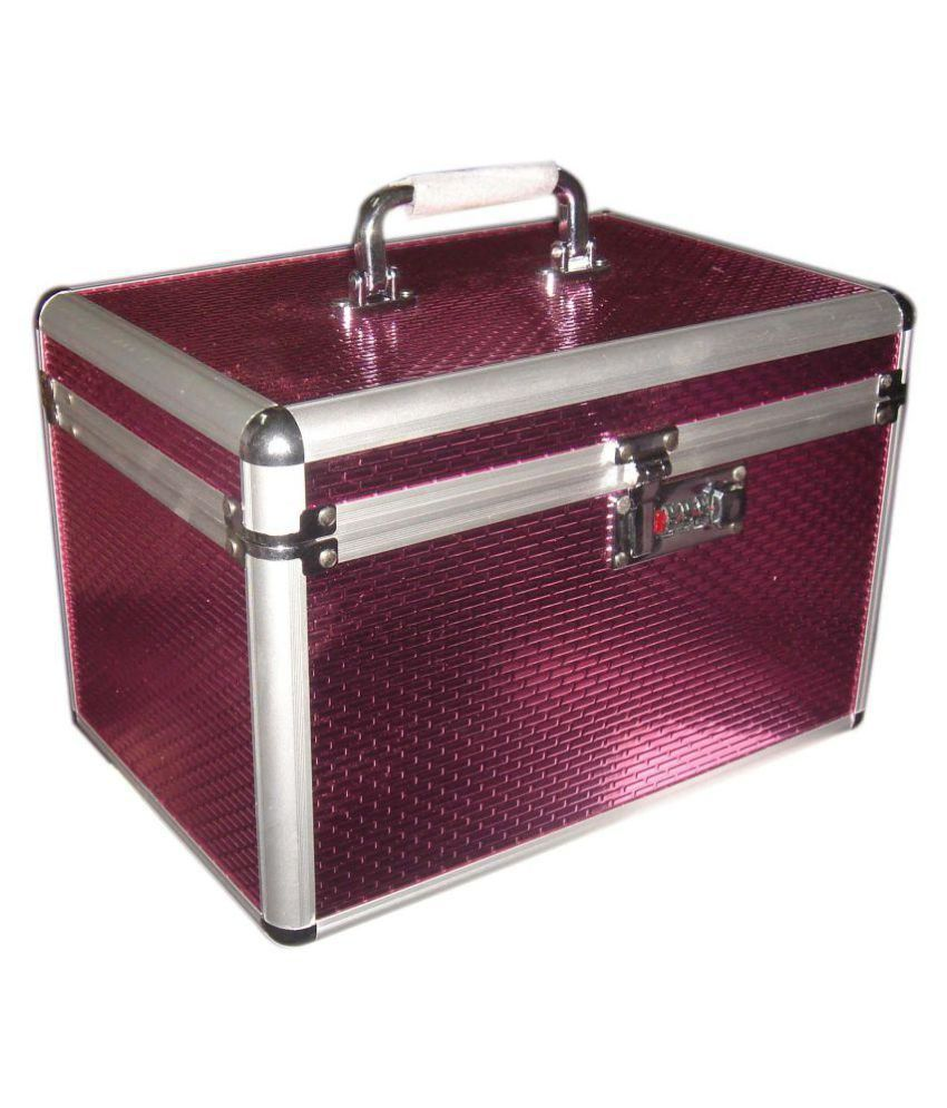 Bonanza Pink Makeup Jewelry Box