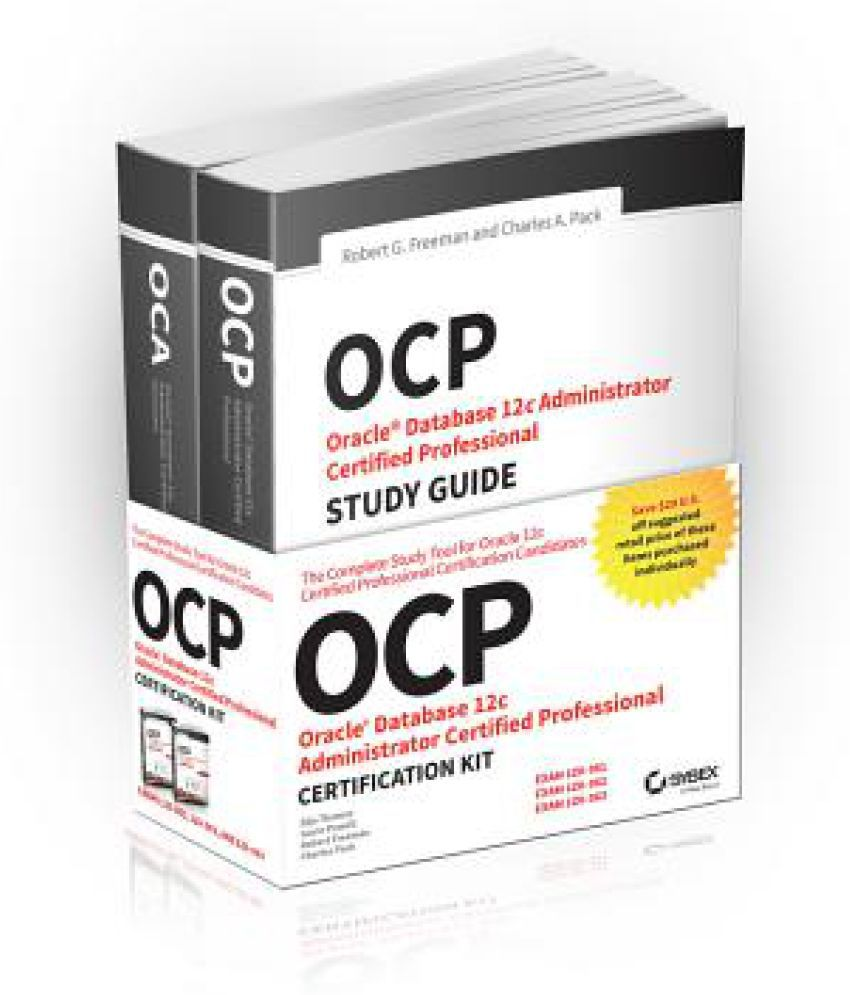 Ocp Oracle Certified Professional On Oracle 12c