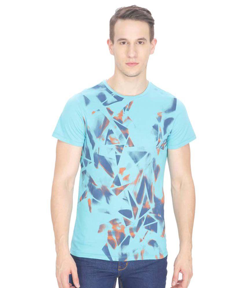 Leo Sansini Turquoise Round T-Shirt