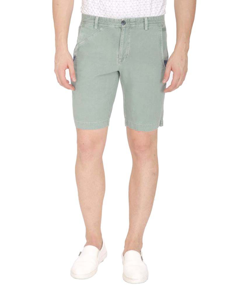 Leo Sansini Green Shorts