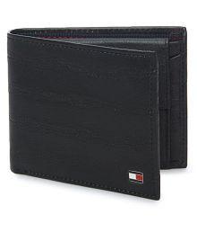 Tommy Hilfiger Black Casual Regular Wallet