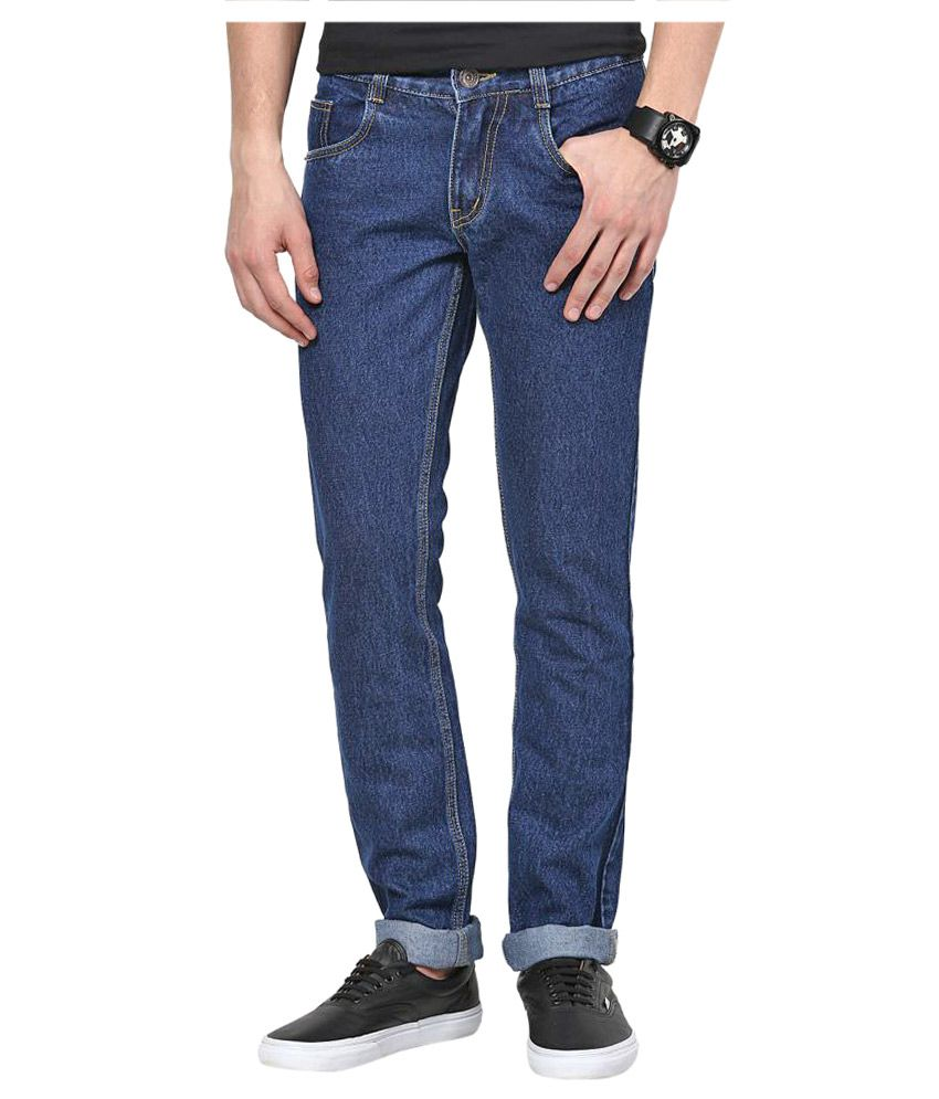 11Cent Dark Blue Slim Solid