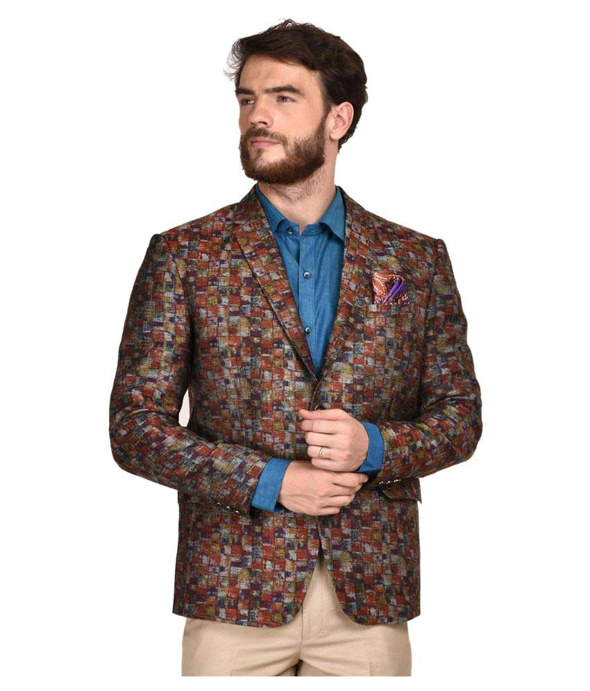 La Mode Multi Printed Party Blazers