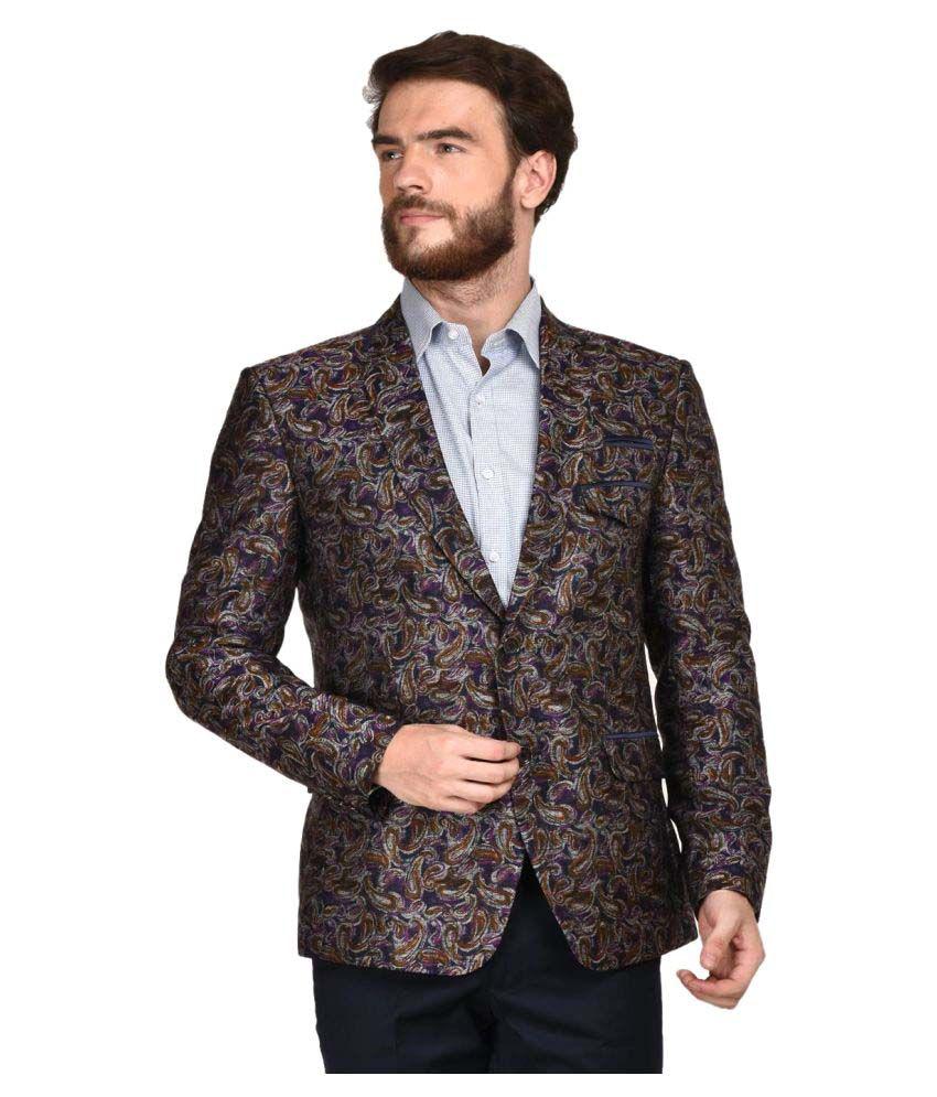 La Mode Multi Printed Formal Blazers