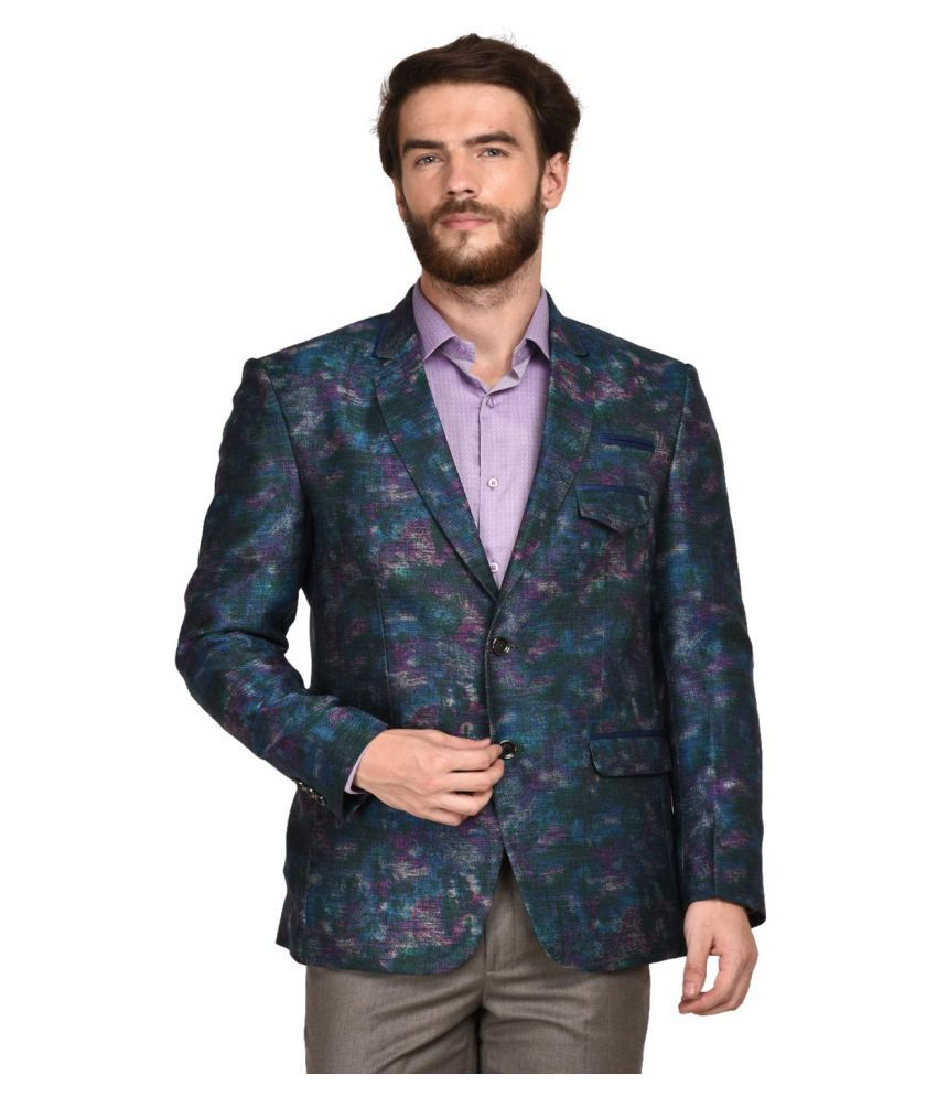 La Mode Multi Printed Formal Blazers
