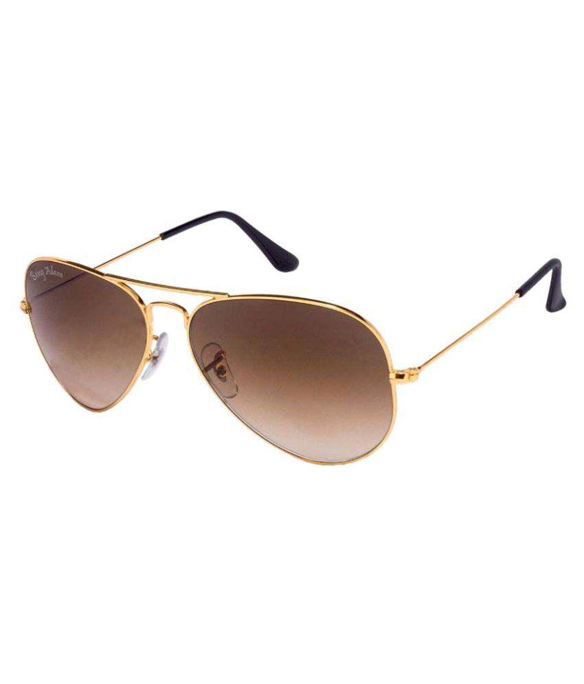 Being Adam Brown Aviator Sunglasses ( avbdo1 )