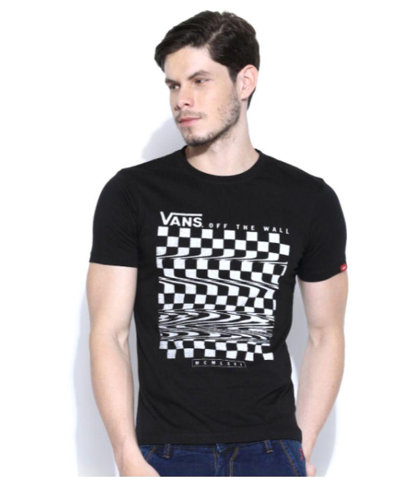 Vans Black Round T-Shirt