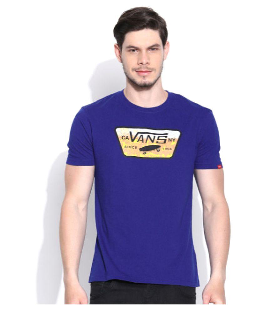 Vans Blue Round T-Shirt