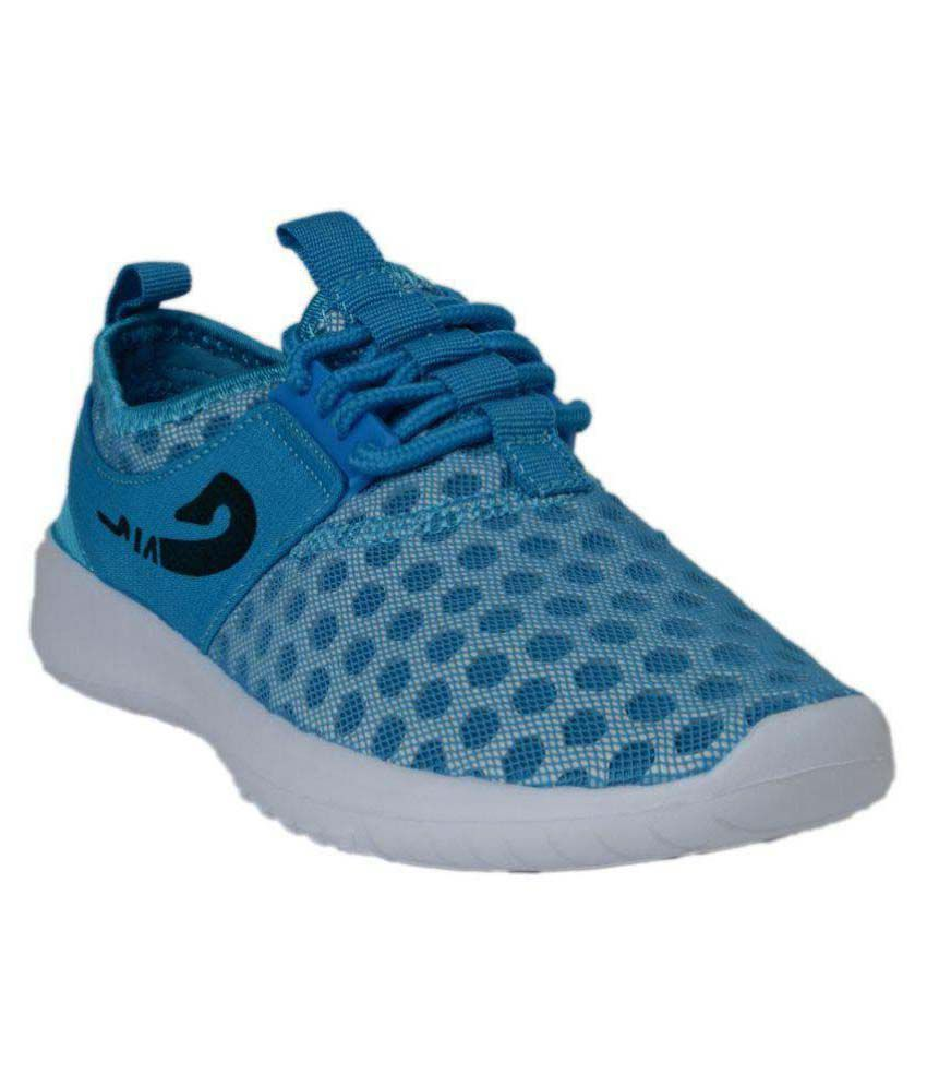 Q'ba Blue Running Shoes  available at snapdeal for Rs.1050