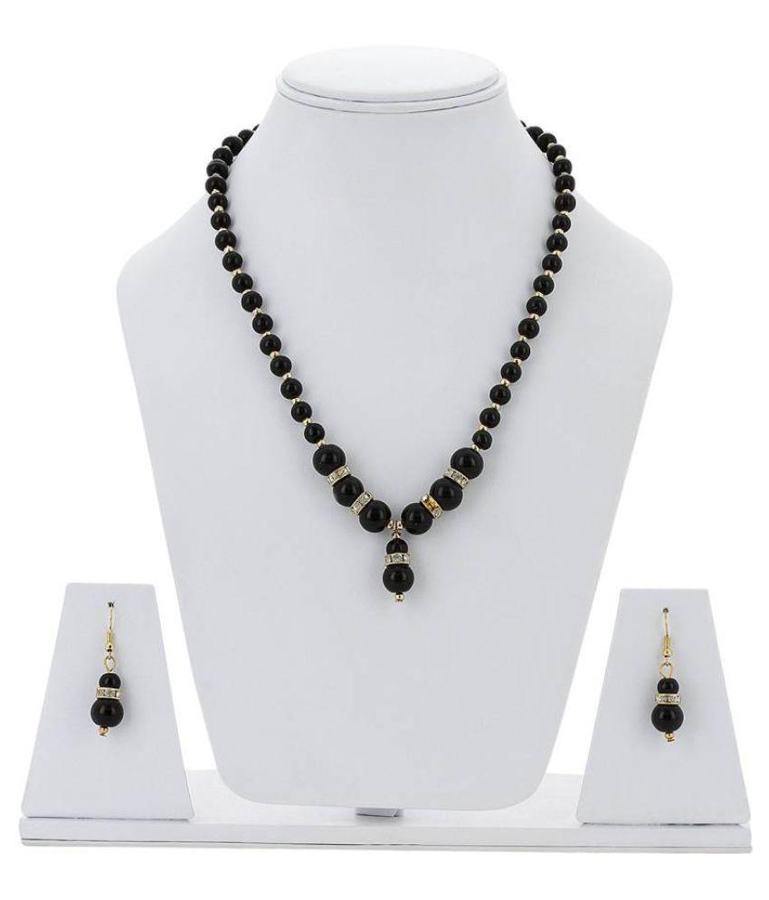 Uma Alloy Necklace Set