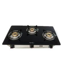 Pigeon Smart 3 Burner Glass Manual Gas Stove