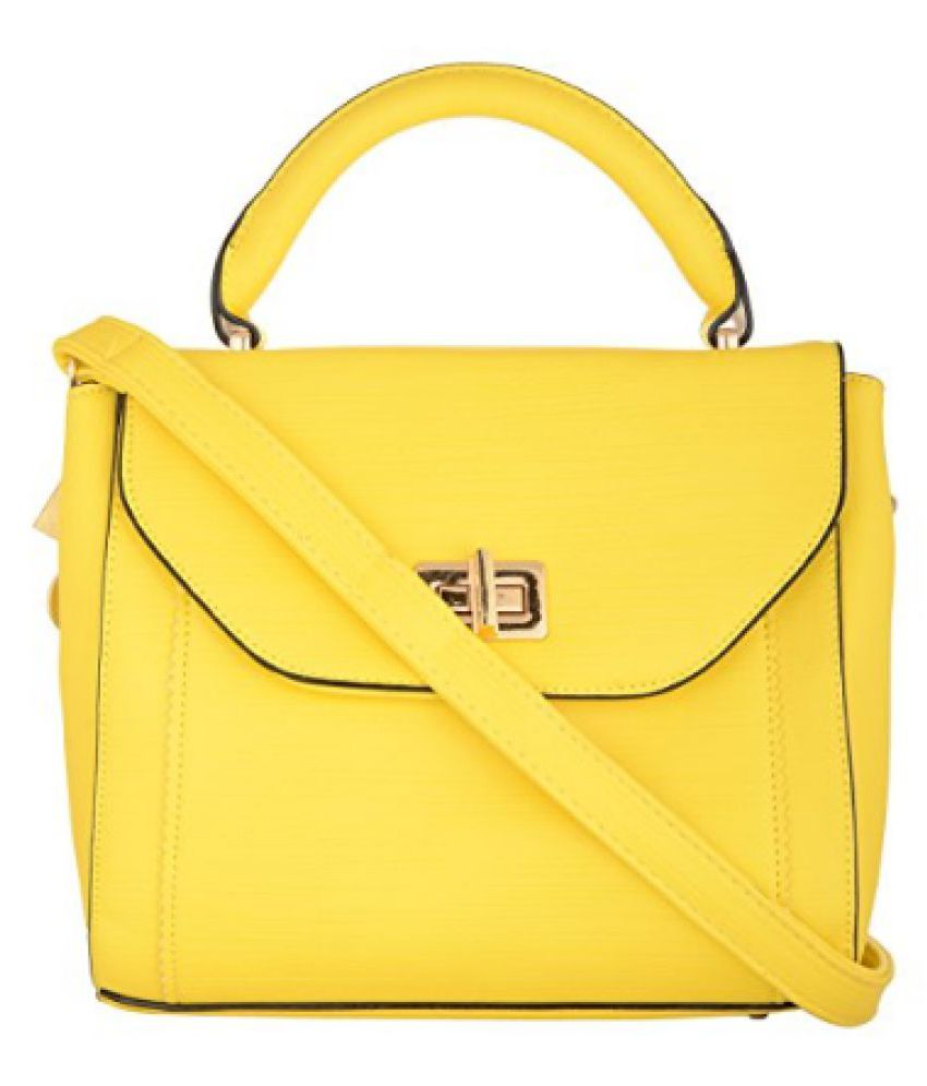 Target Products Yellow Faux Leather Sling Bag