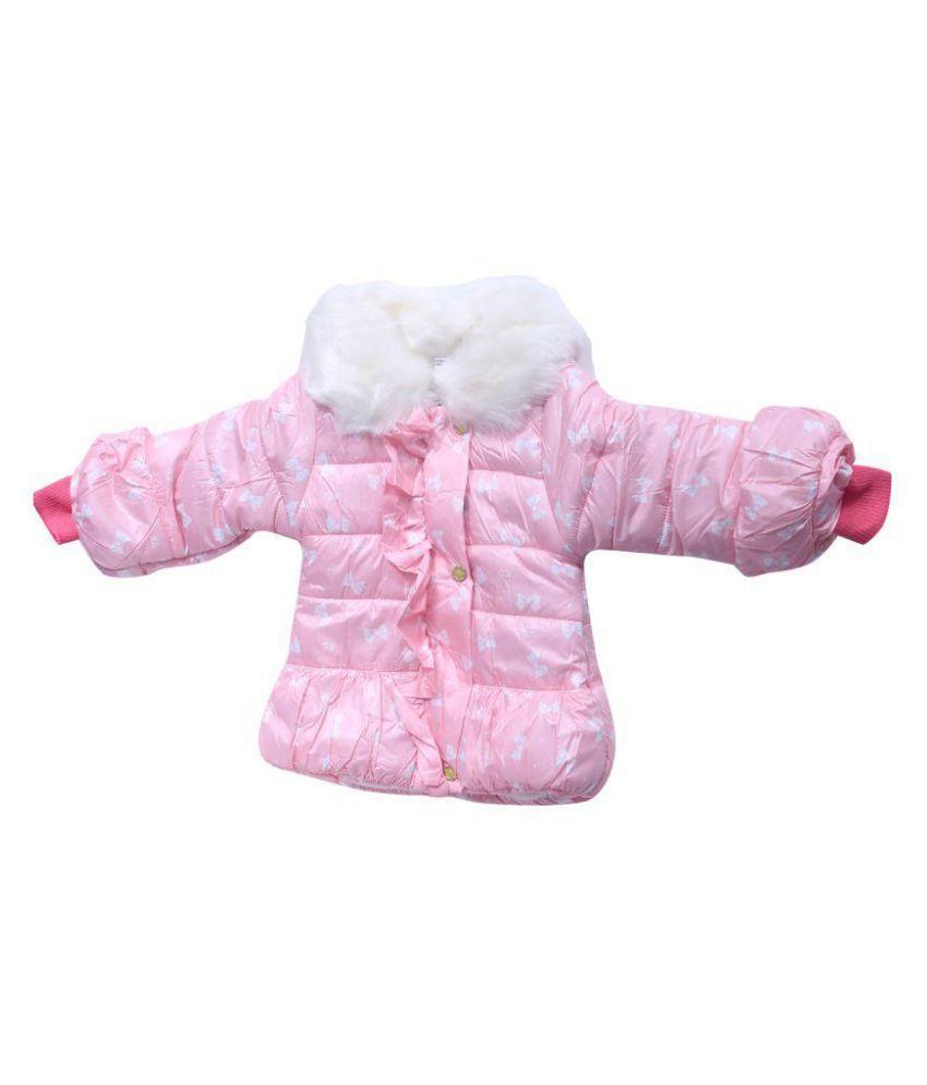 Ishika Garments Pink Jacket