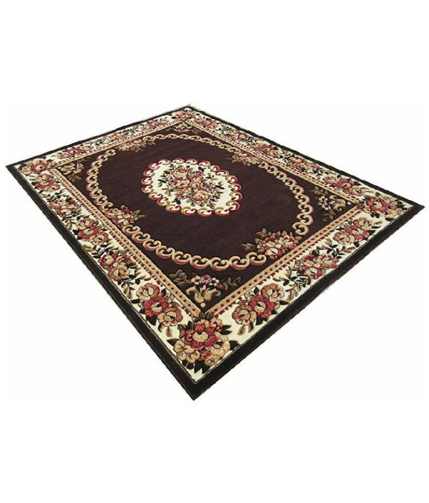 Pcarpet Brown Synthetic Carpet Traditional Buy Pcarpet