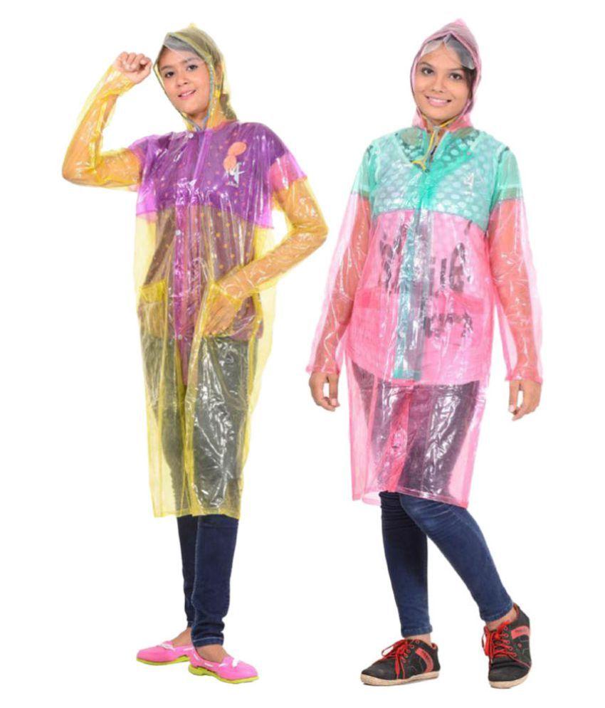 Allwin Waterproof Long Raincoat