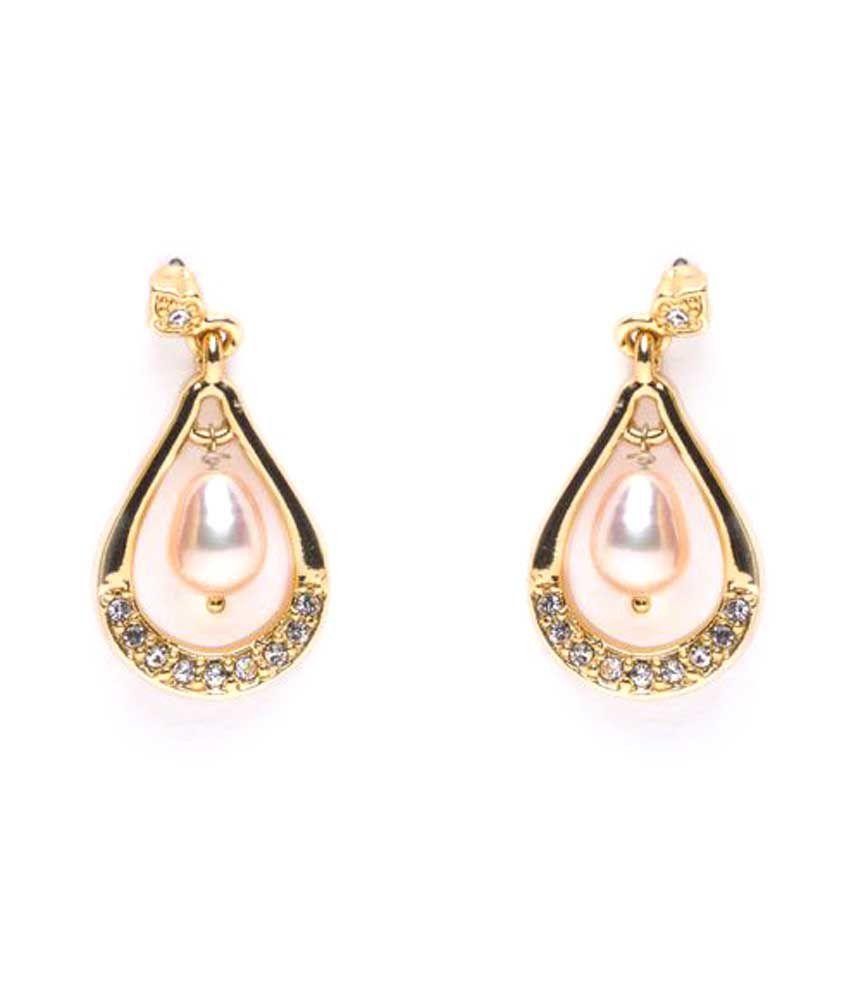 Chandrani Pearls Pink Earring