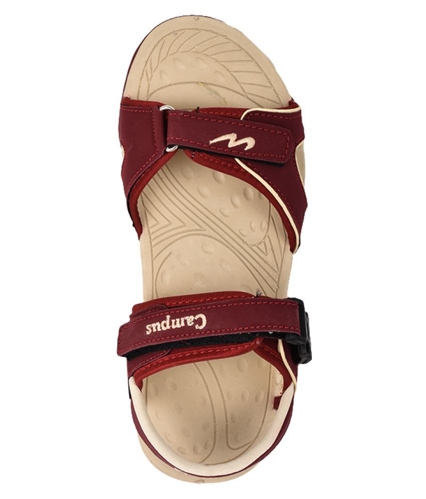 e8483c0de6647 Campus Jazzy Model Red Color Kids Sports Sandals Price in India- Buy ...