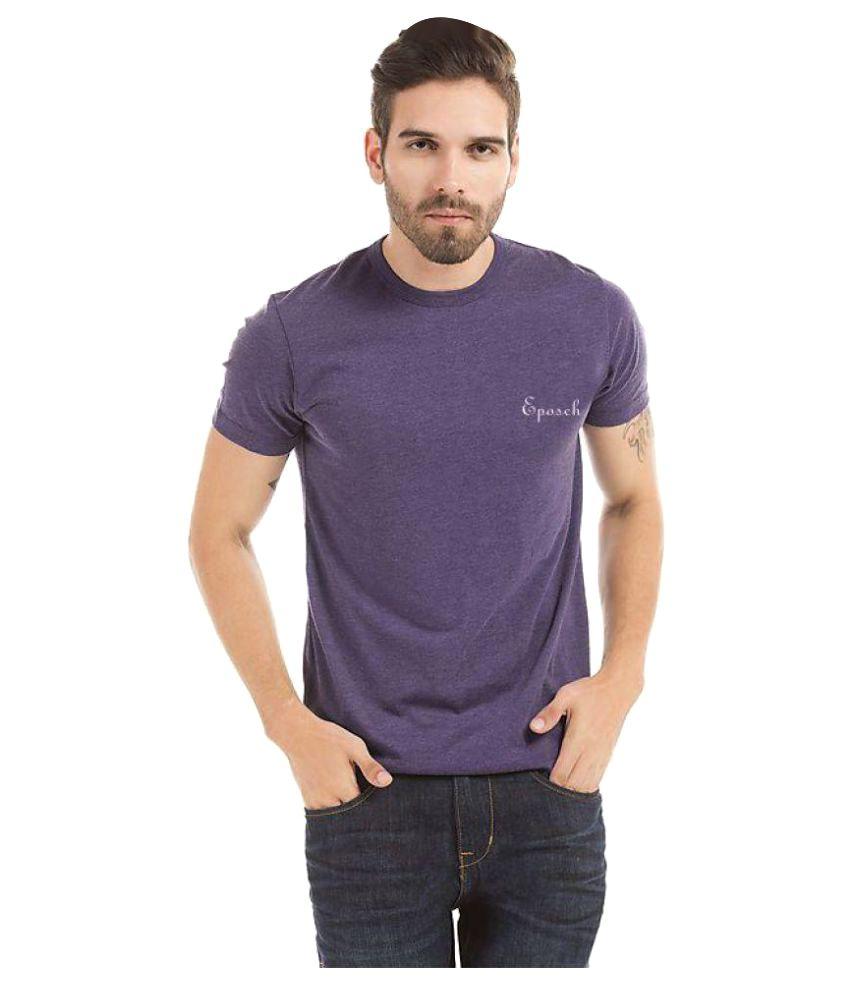 Eposch Purple Round T-Shirt